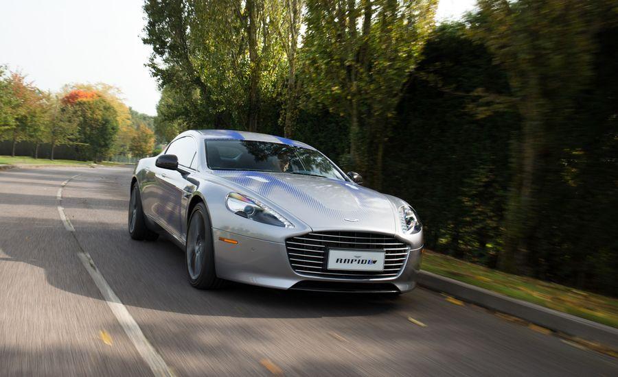 The Aston Martin Rapide E Will Be a Track-Ready Electric Car