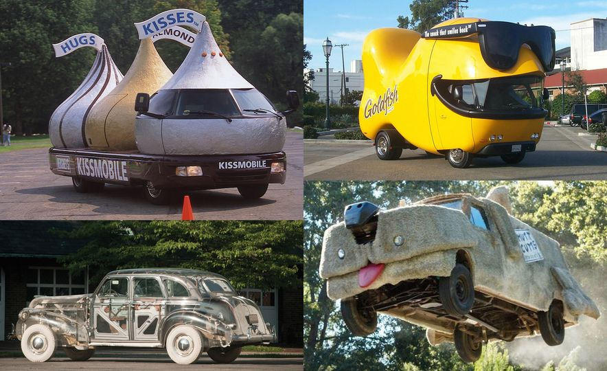 Product Placement: Our Favorite Custom Promotional Vehicles - Slide 1