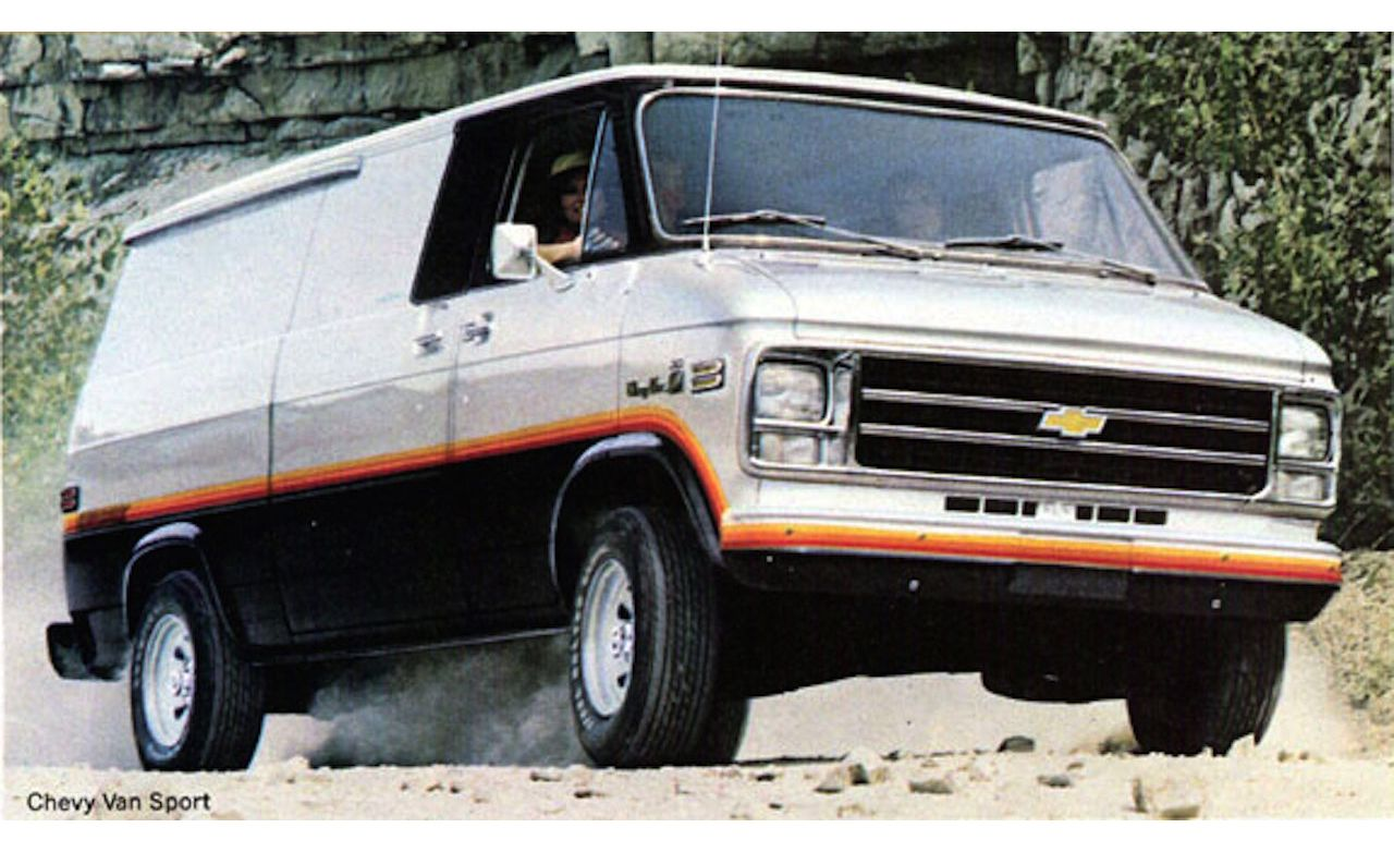 15 Of The Raddest Factory Custom And Small Batch Production Vans 1980 Ford Conversion Van 1970s