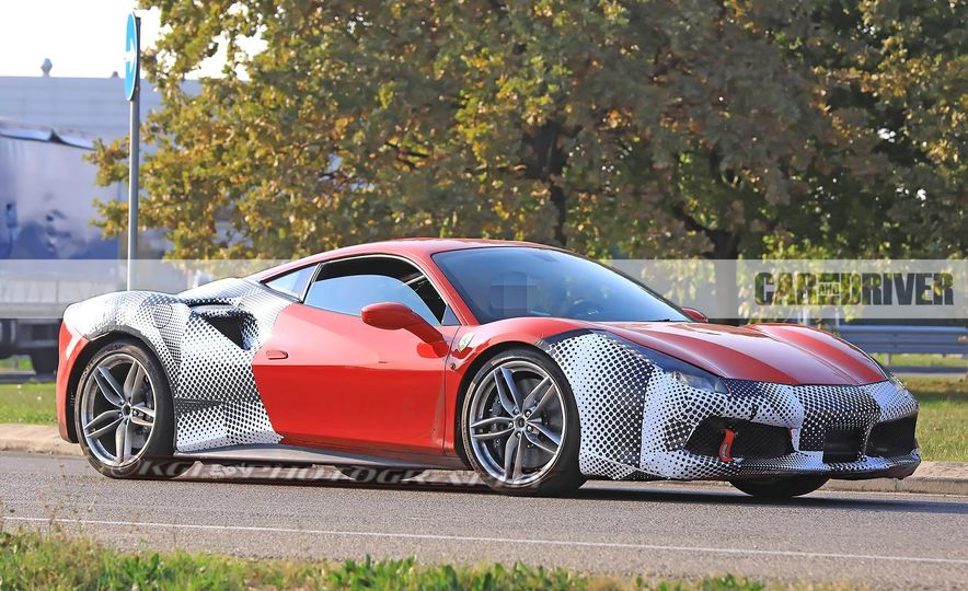 2019 Ferrari 488GTO (spy photo) - Slide 3
