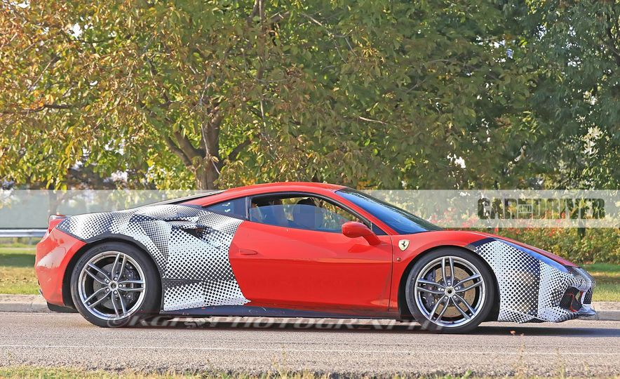 2019 Ferrari 488GTO (spy photo) - Slide 5