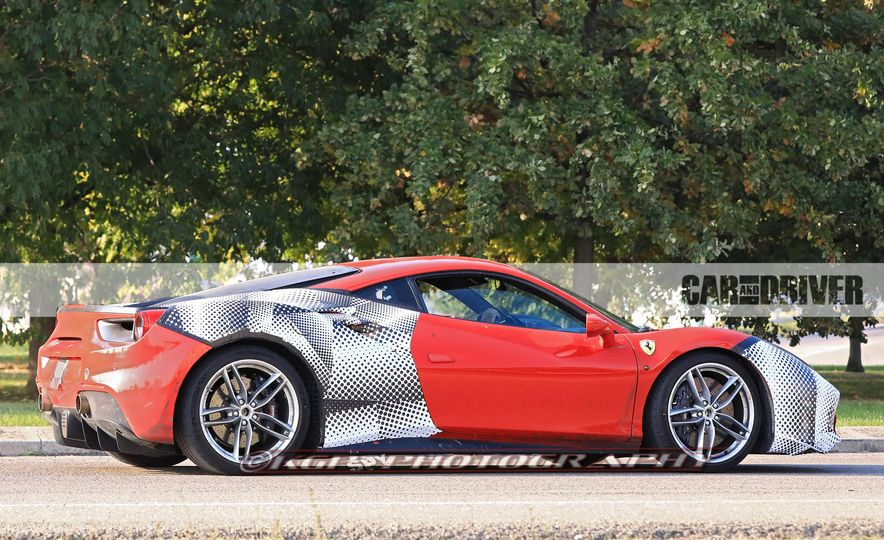 2019 Ferrari 488GTO (spy photo) - Slide 6