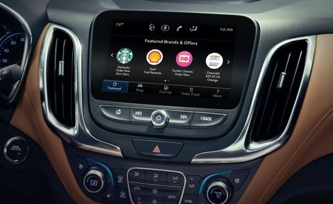 This Morning, GM Gave Millions of Car Owners the Ability to Order Coffee and a Doughnut via Touchscreen