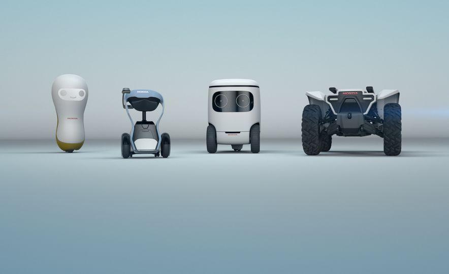Honda 3E robot concepts - Slide 1