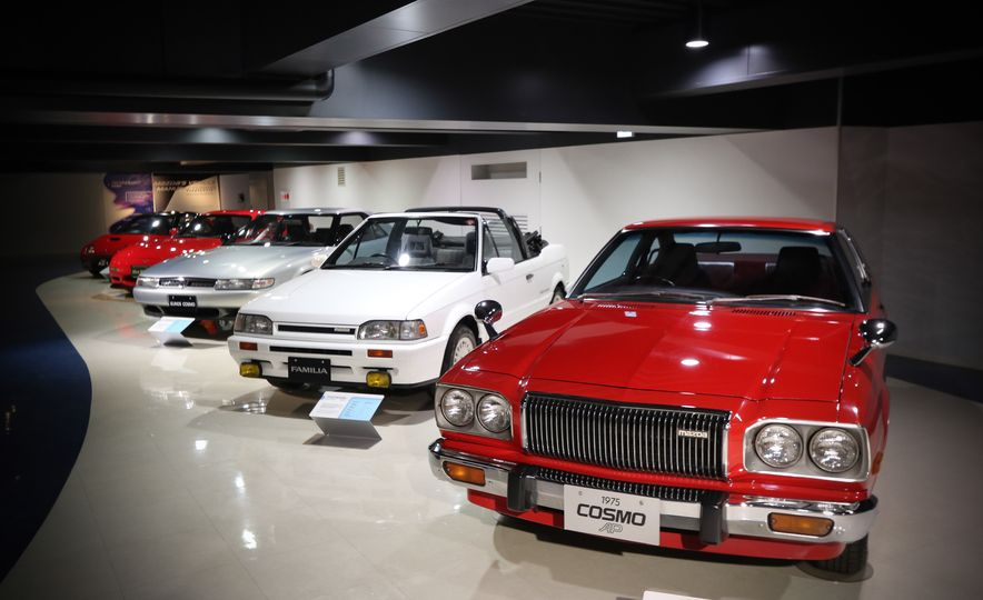 Mazda Museum, Hiroshima: Welcome to Rotor City - Slide 11