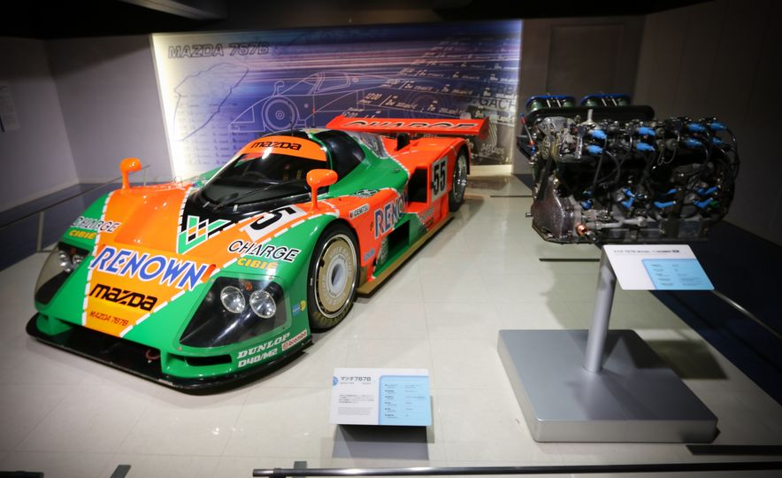 Mazda Museum, Hiroshima: Welcome to Rotor City - Slide 17