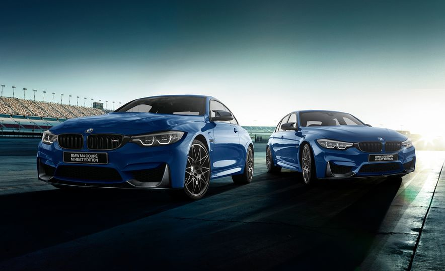 BMW M4 coupe M Heat Edition and BMW M3 sedan M Heat Edition - Slide 1