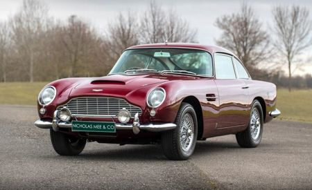 Drive This Aston to New Lands: Robert Plant's DB5 for Sale