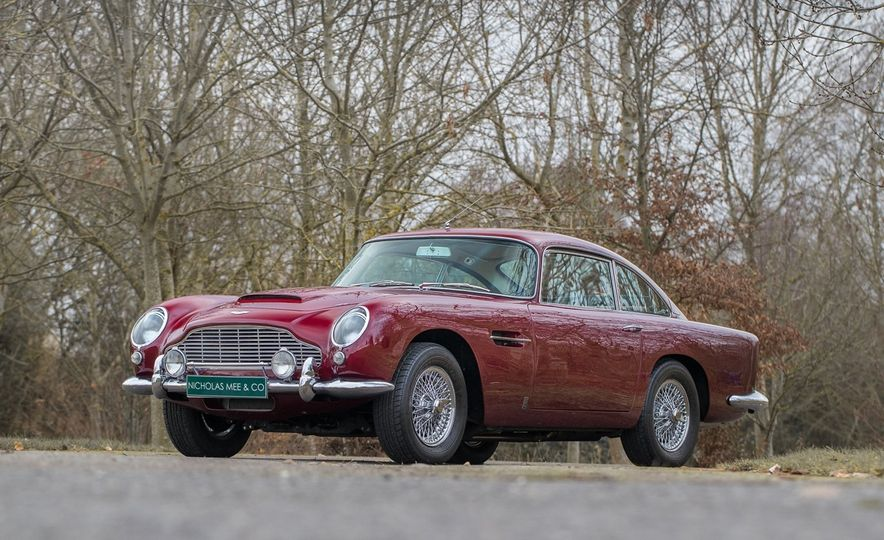 Robert Plant's 1965 Aston Martin DB5 - Slide 2