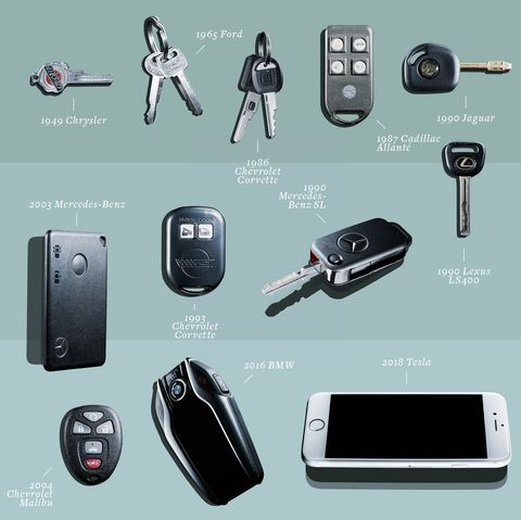 The Evolution of Car Keys Is More Interesting Than You Think
