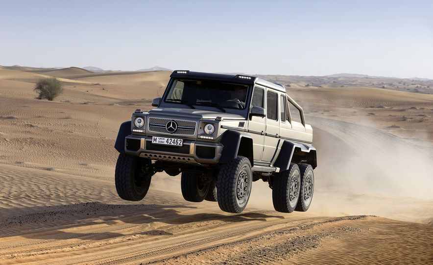 From Brute to Bourgeois: A Brief Visual History of Mercedes-Benz's G-wagen SUV - Slide 15