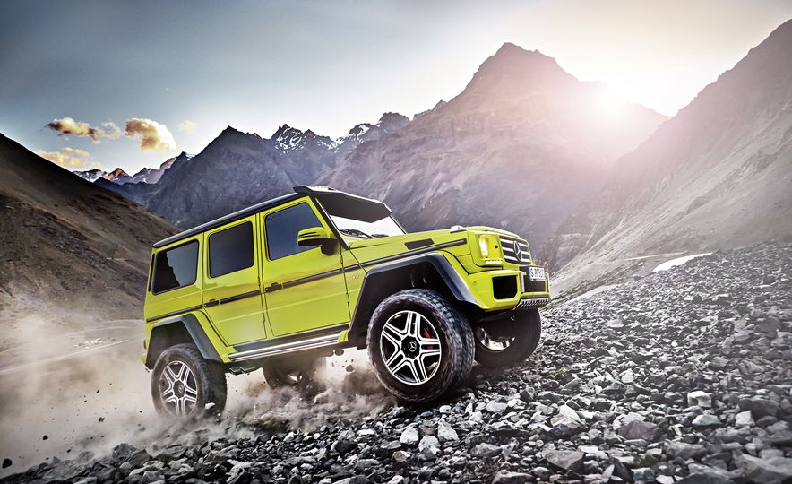 From Brute to Bourgeois: A Brief Visual History of Mercedes-Benz's G-wagen SUV - Slide 16