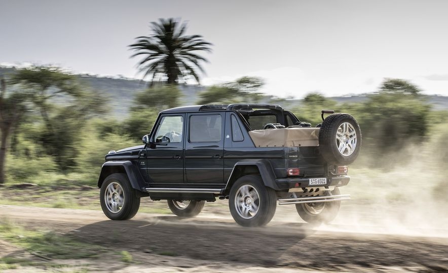 From Brute to Bourgeois: A Brief Visual History of Mercedes-Benz's G-wagen SUV - Slide 17