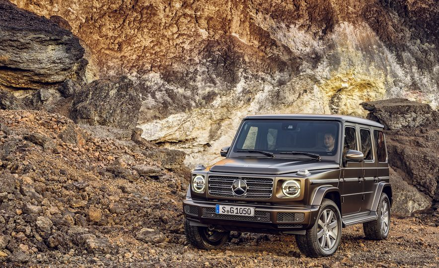 From Brute to Bourgeois: A Brief Visual History of Mercedes-Benz's G-wagen SUV - Slide 18