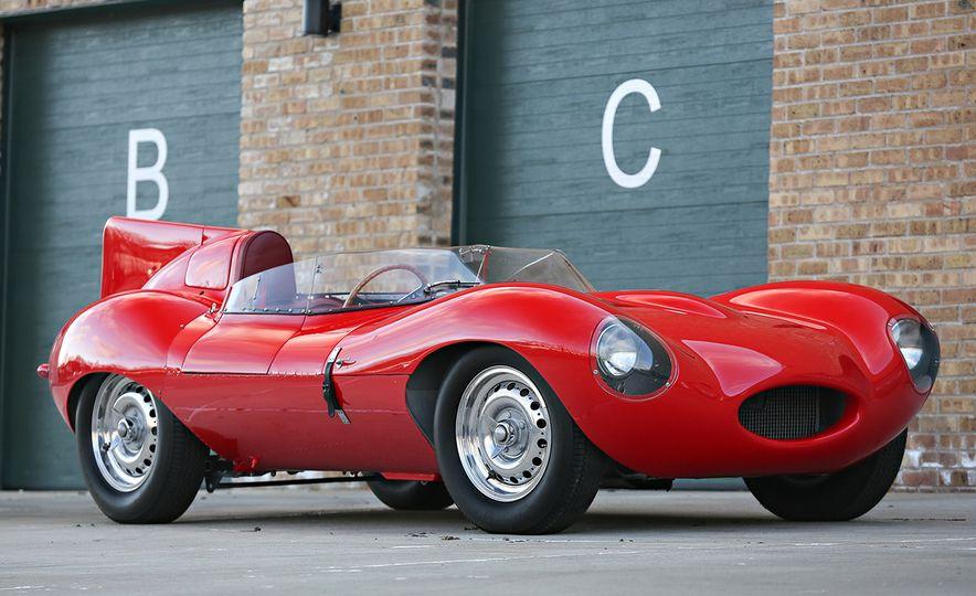 1956 Jaguar D-Type - Slide 1