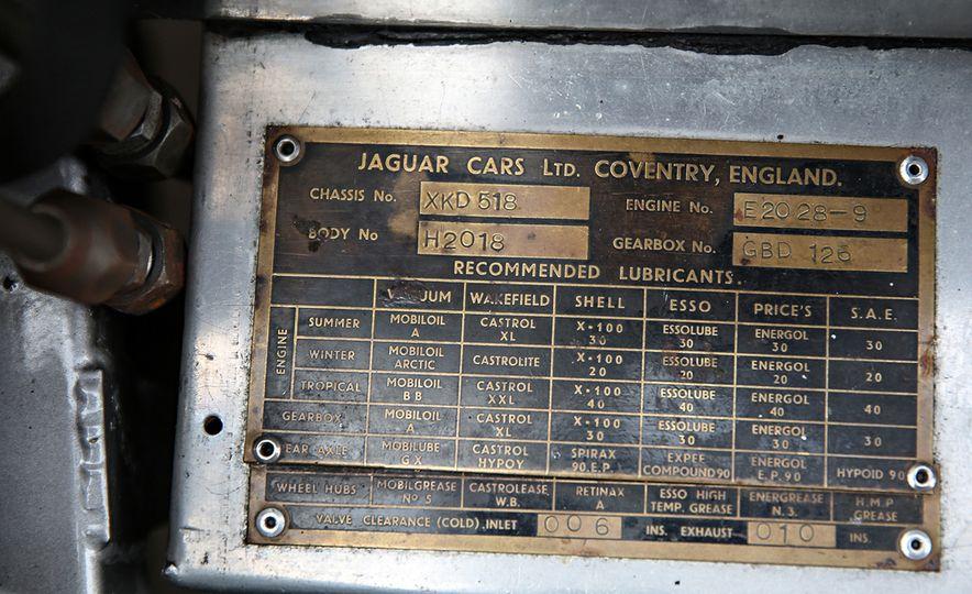 1956 Jaguar D-Type - Slide 20