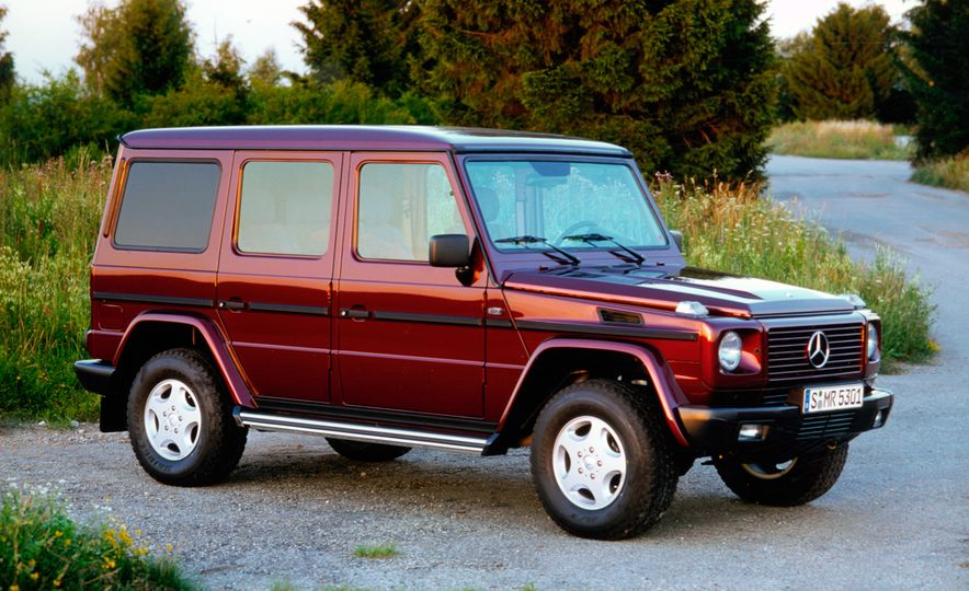 From Brute to Bourgeois: A Brief Visual History of Mercedes-Benz's G-wagen SUV - Slide 10