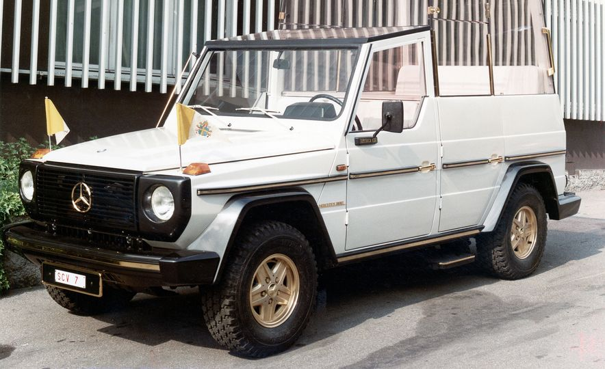 From Brute to Bourgeois: A Brief Visual History of Mercedes-Benz's G-wagen SUV - Slide 3