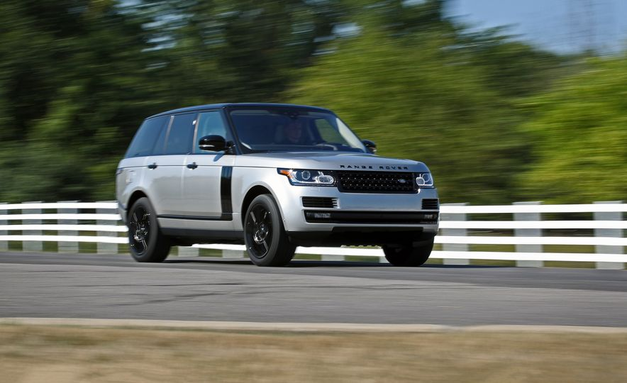 2017 Land Rover Range Rover Supercharged - Slide 1