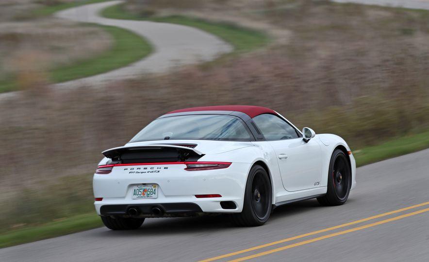 2017 Porsche 911 Targa 4 GTS Manual - Slide 13