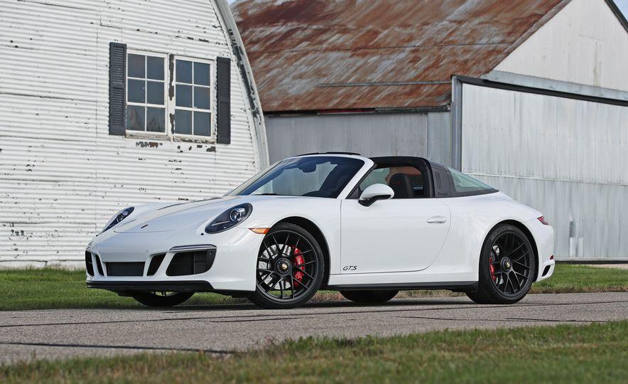 2017 Porsche 911 Targa 4 GTS Manual - Slide 16