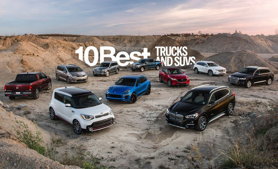 And the Winners Are: 2018 10Best Trucks and SUVs in Pictures - Slide 1