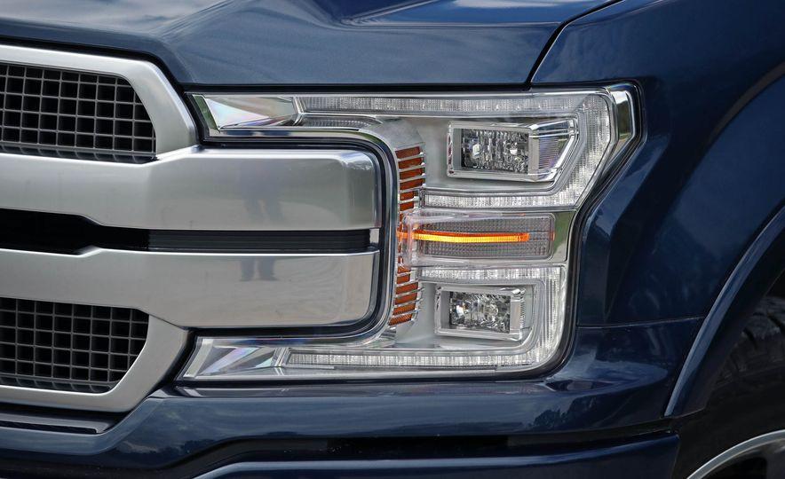 2018 Ford F-150 Platinum - Slide 19