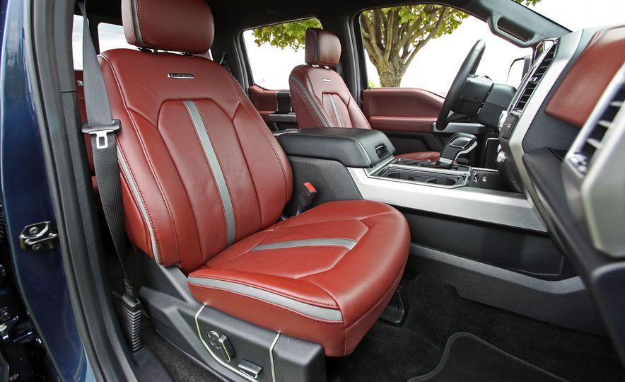 2018 Ford F-150 Platinum - Slide 28