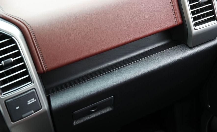 2018 Ford F-150 Platinum - Slide 54