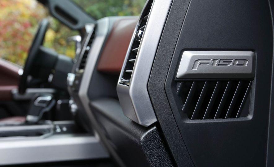 2018 Ford F-150 Platinum - Slide 55