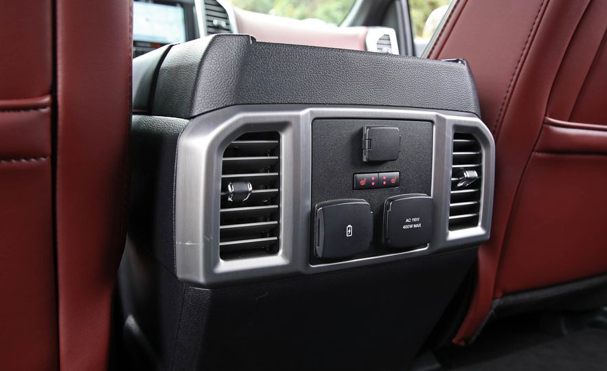 2018 Ford F-150 Platinum - Slide 62