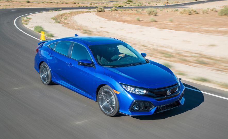2018 Honda Civic Si sedan, Civic Sport, and Civic Type R - Slide 3
