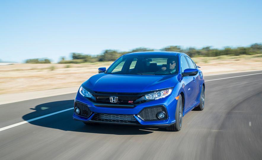 2018 Honda Civic Si sedan, Civic Sport, and Civic Type R - Slide 4