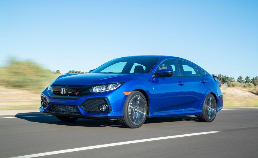 2018 Honda Civic Si sedan, Civic Sport, and Civic Type R - Slide 5