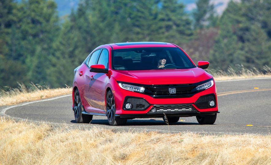 2018 Honda Civic Si sedan, Civic Sport, and Civic Type R - Slide 11