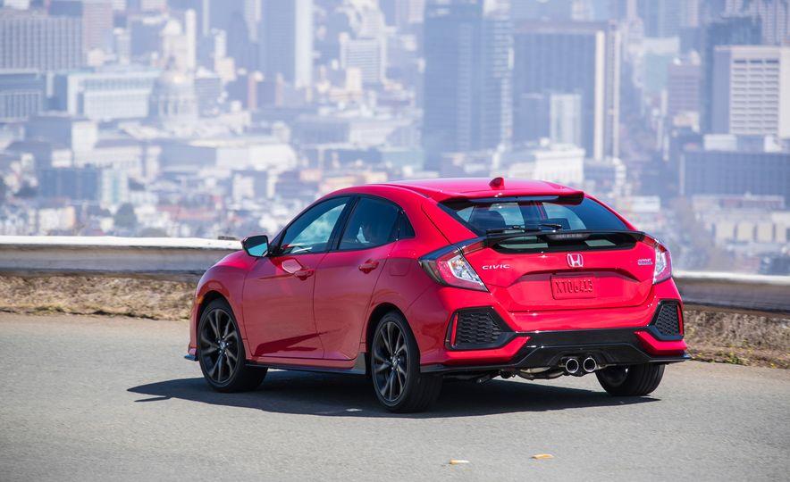2018 Honda Civic Si sedan, Civic Sport, and Civic Type R - Slide 12