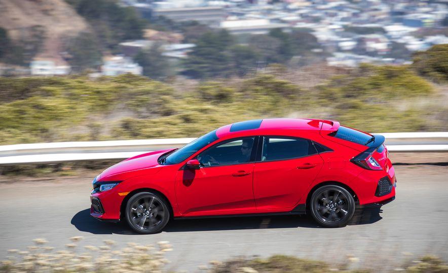 2018 Honda Civic Si sedan, Civic Sport, and Civic Type R - Slide 13