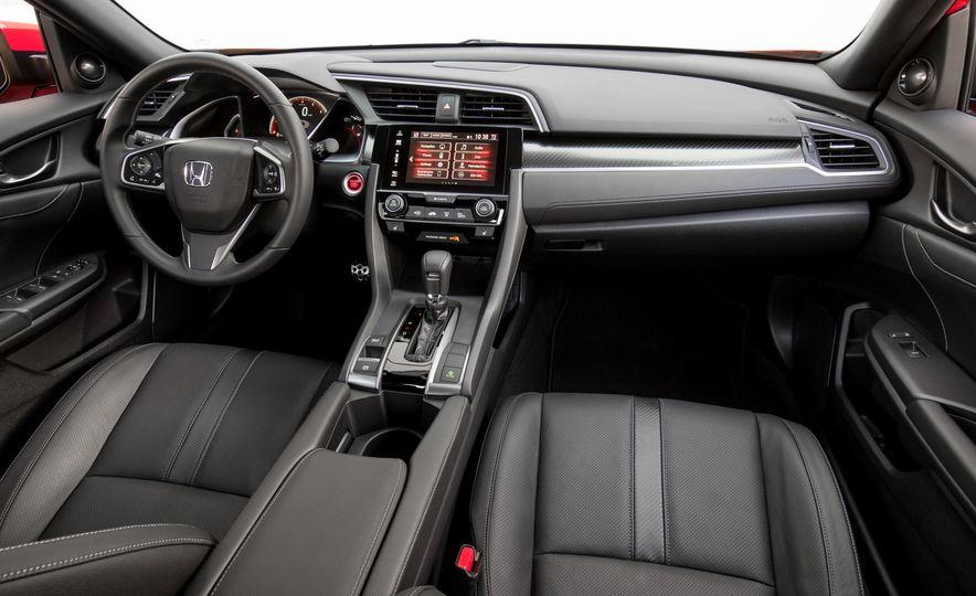 2018 Honda Civic Si sedan, Civic Sport, and Civic Type R - Slide 15