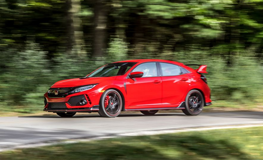 2018 Honda Civic Si sedan, Civic Sport, and Civic Type R - Slide 16