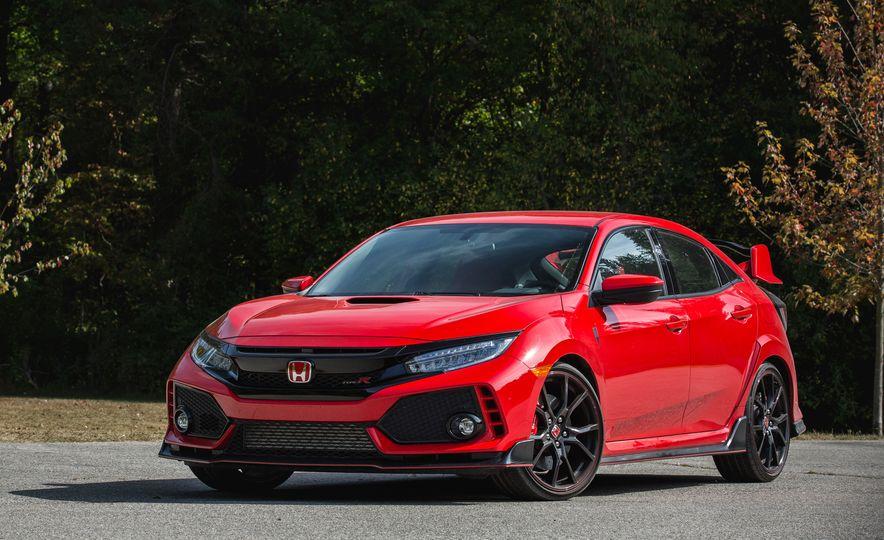 2018 Honda Civic Si sedan, Civic Sport, and Civic Type R - Slide 19