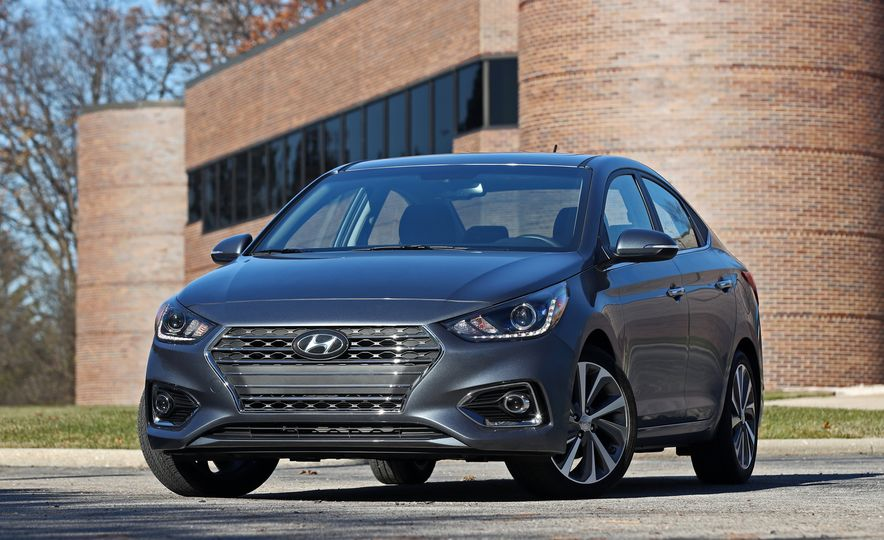 2018 Hyundai Accent Limited - Slide 14