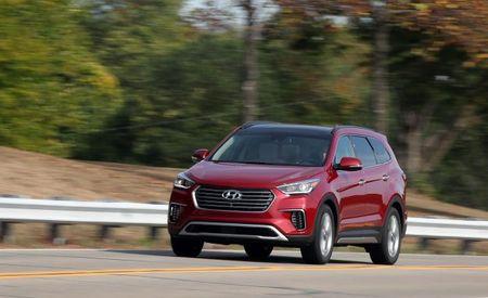 Hyundai Recalls 43,941 Santa Fe and Santa Fe Sport SUVs after Two Steering Wheels Detach