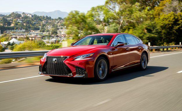 2018 Lexus LS Pricing: Yes, It's Still a Lot Cheaper Than an S-class