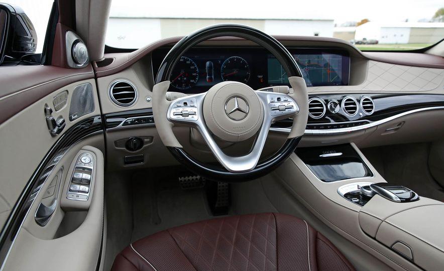 2018 Mercedes-Benz S-class - Slide 37