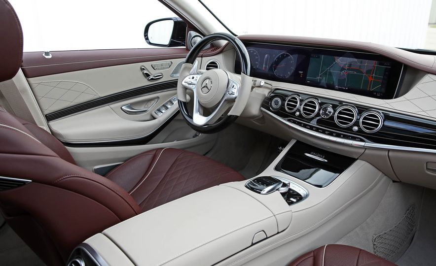 2018 Mercedes-Benz S-class - Slide 39