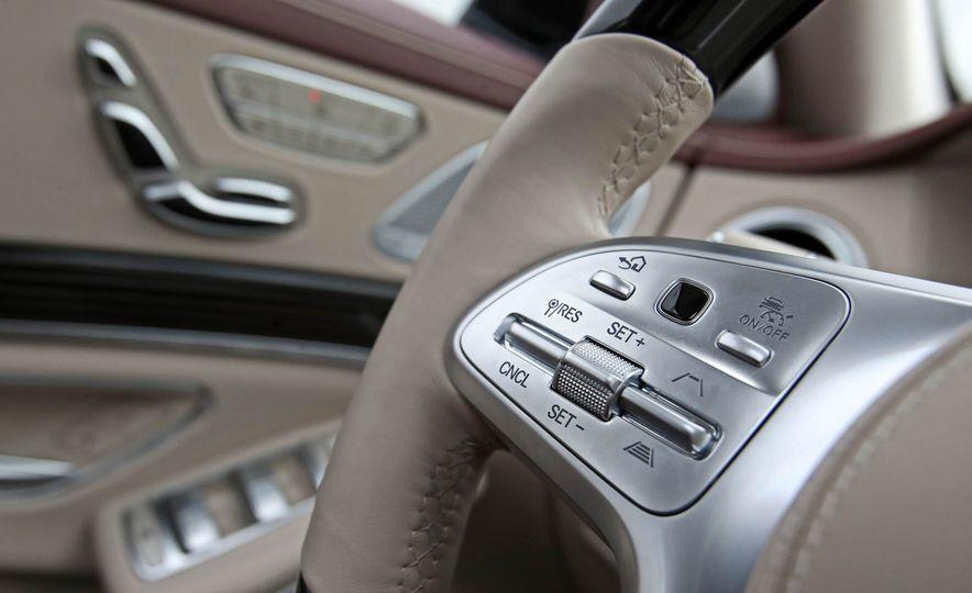 2018 Mercedes-Benz S-class - Slide 44