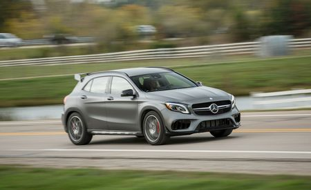 2018 Mercedes-AMG GLA45 4Matic – Instrumented Test
