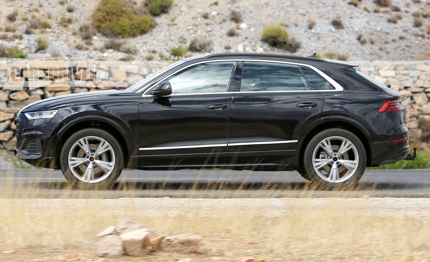 2019 Audi Q8 (spy photo) - Slide 3