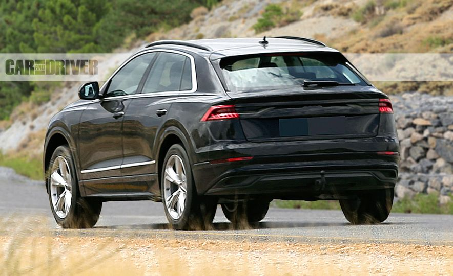 2019 Audi Q8 (spy photo) - Slide 5