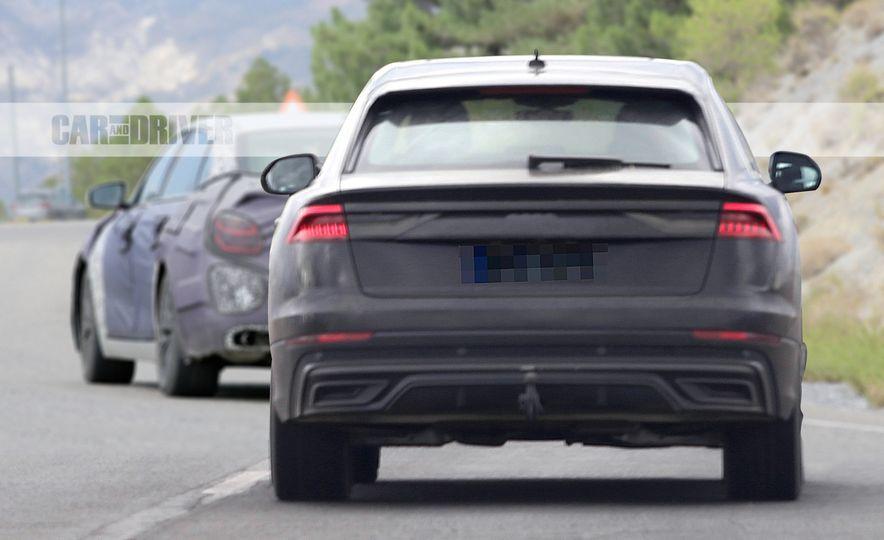 2019 Audi Q8 (spy photo) - Slide 6